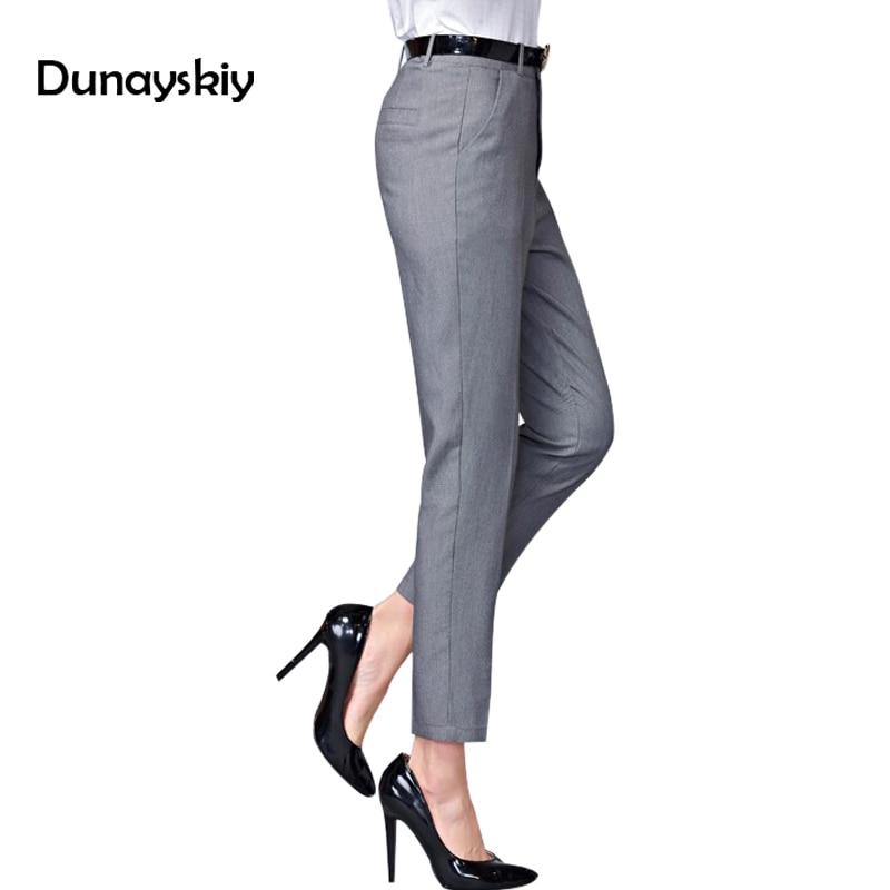 Iselinstorm Comprar Pantalones De Mujer Oficina 2018 Nuevos Casuales Primavera Ol Pantalon Para Elasticos Cintura Alta Trabajo Ajustados Botttoms Online Baratos