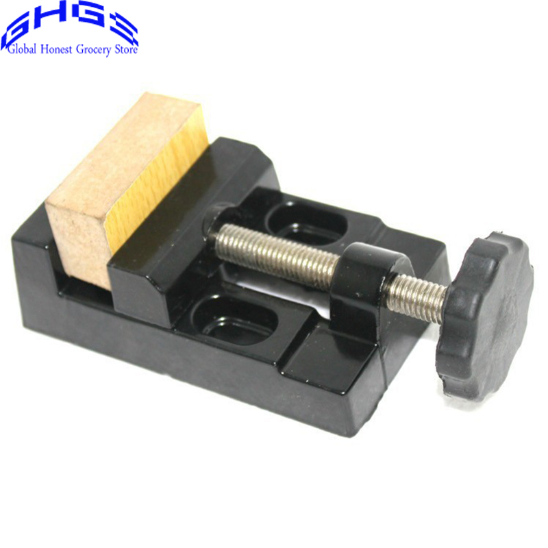 Delightful Mini Bench Vice Part - 3: Quality Aluminum Alloy Mini Table Vice Bench 50MM Screw Bench Vise For DIY  Jewellery Craft Mould ...