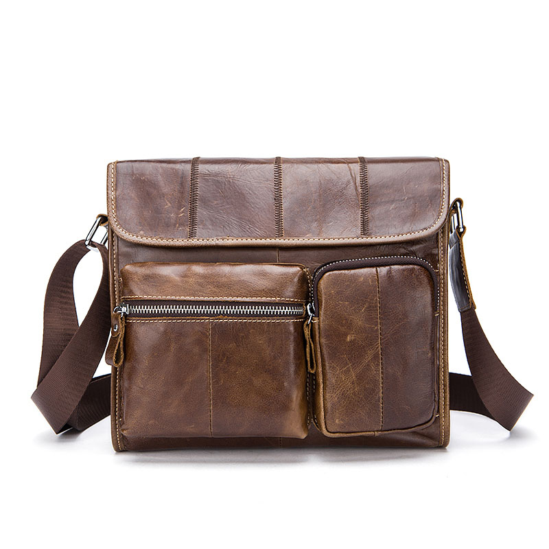 Vintage Brand Genuine Leather Men Messenger bags Mens bagss Computer Shoulder  Multifunction Brown  Crossbody Vintage Brand Genuine Leather Men Messenger bags Mens bagss Computer Shoulder  Multifunction Brown  Crossbody