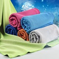 2016 New cooling towel 100*30cm 1 Pack Cool Towel Summer Sports Ice Cool Towel PVA Hypothermia Sport Towels