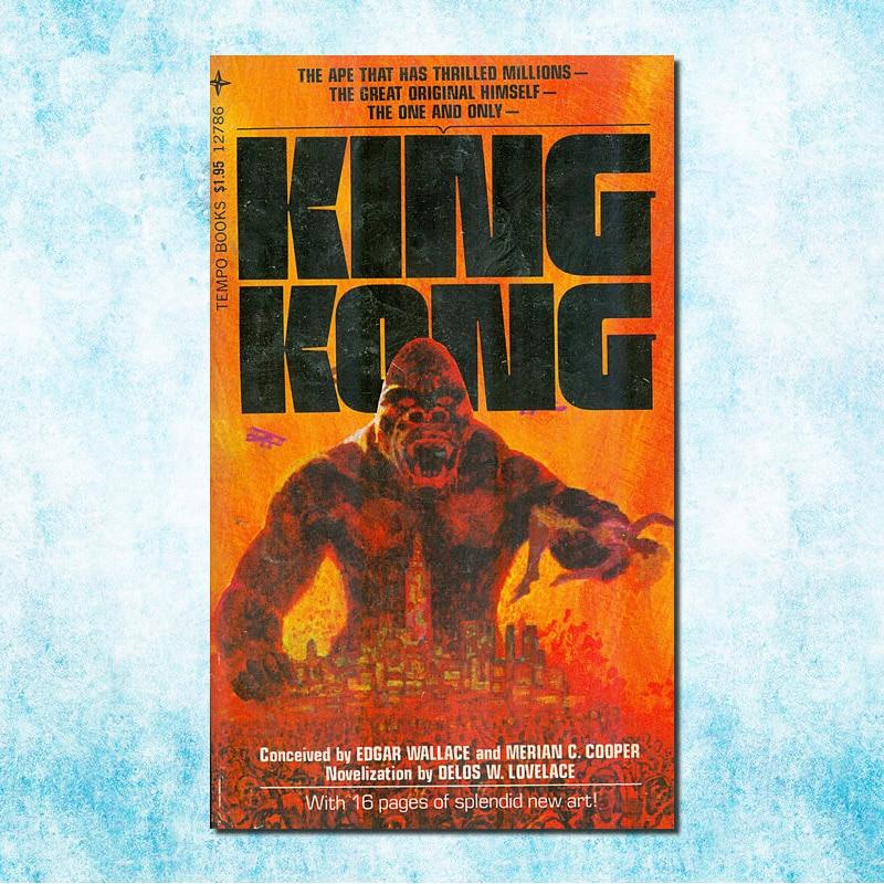kong Skull Island King kong New Movie Art Silk Canvas
