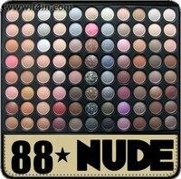 88 Metallic Colours Eyeshadow Palette Warm Color Matt Eye Shadow Makeup Palette Kit F88 Set Free