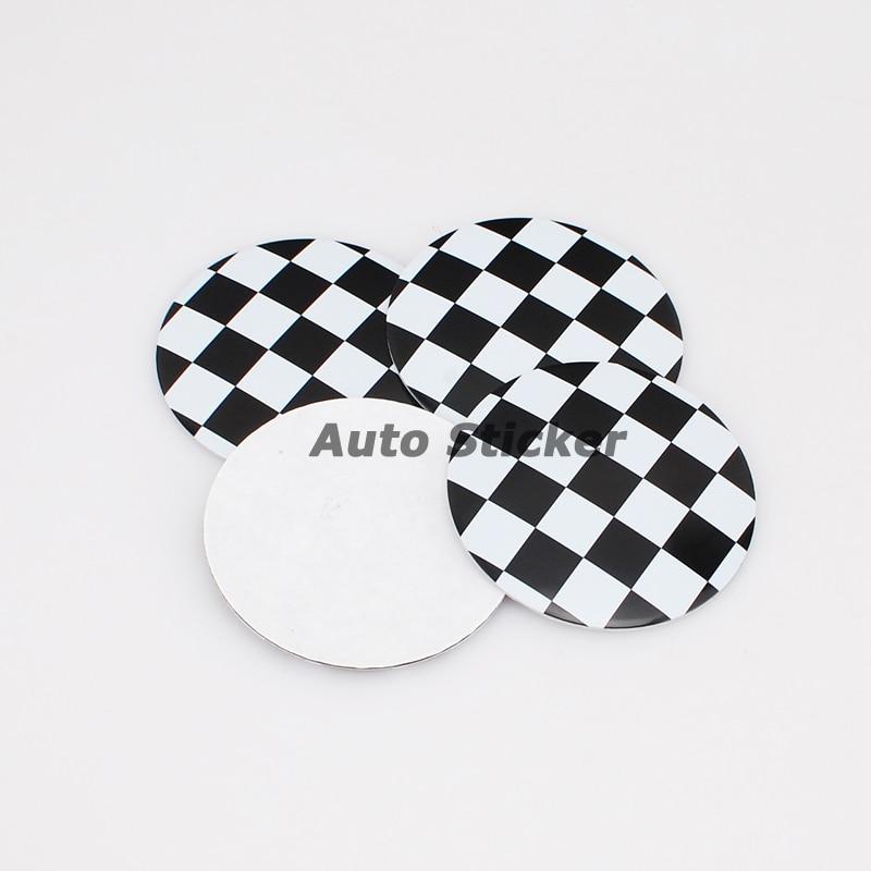Acura Logo Car Lot Flag F 1829: 56.5mm F1 Checkered Flag Car Wheel Center Sticker Cover