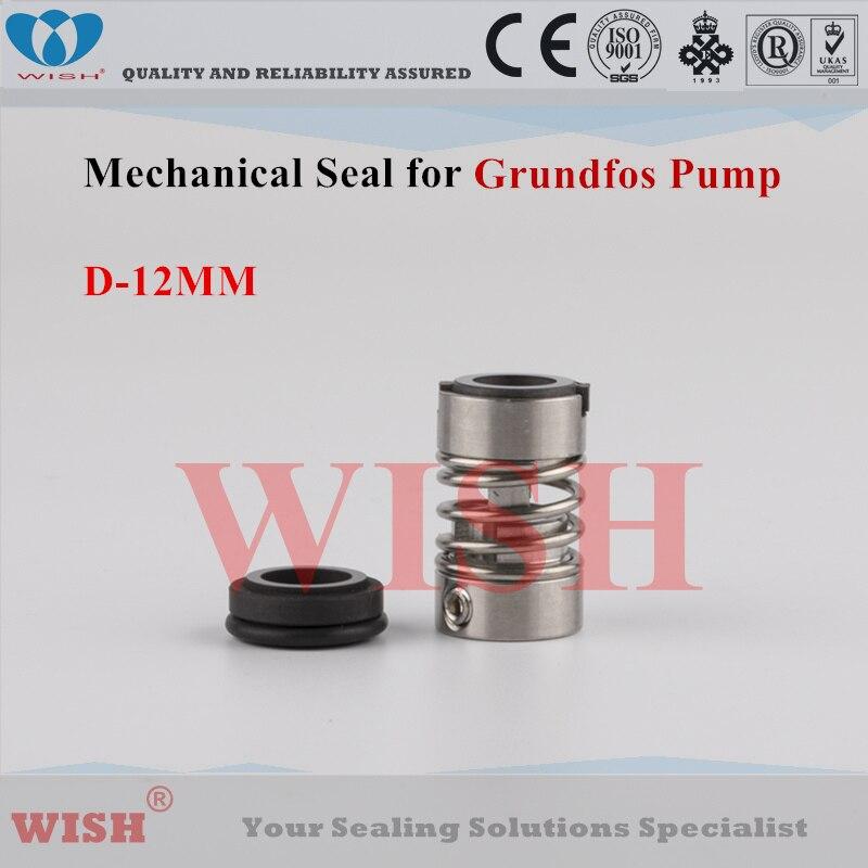 Joint mécanique de type D Grundfos 12 MM
