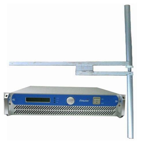 500 Вт 600 Вт Профессиональный Вещания Радио FM Передатчик + КВТ диполь антенна + 35 м кабеля с разъемами Полный набор
