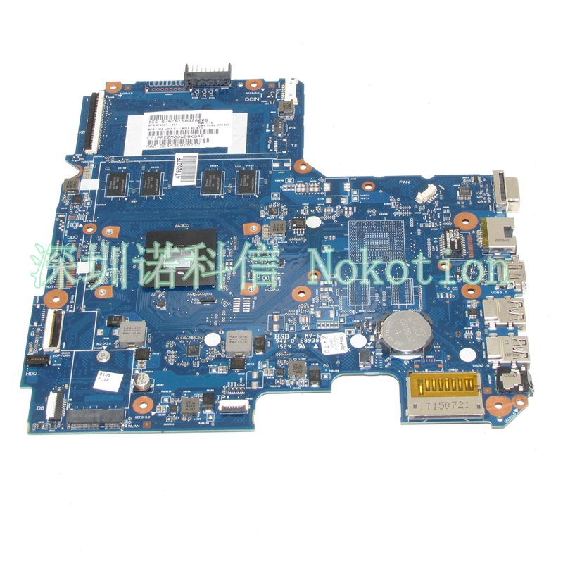 NOKOTION 814507-001 814507-501 laptop mpotherboard For hp pavilion 14-AF 6050A2731301-MB-A01 EM2500 CPU Mainboard full works 574680 001 1gb system board fit hp pavilion dv7 3089nr dv7 3000 series notebook pc motherboard 100% working