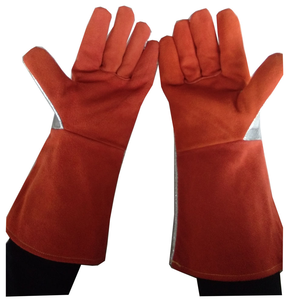 Heated motorcycle gloves new zealand - 300 400 Degree Industrial Heating Gloves High Temperature Fire Gloves China Mainland