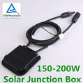 High Quality Solar Junction Box with Cable MC4 Connectors Male Female for Panel DIY NG4S