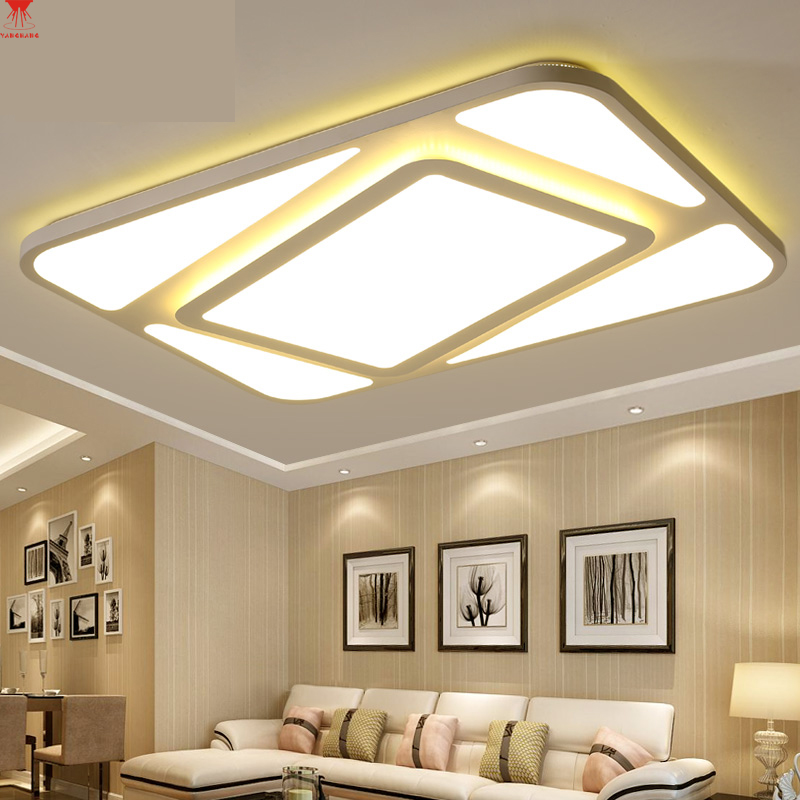 YANGHANG Modern Led Ceiling Lights For Living Room Bedroom 95-265V Indoor lighting Ceiling Lamp Fixture luminaria tLiving room