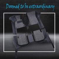 ZHAOYANHUA изготовленные на заказ автомобильные коврики для Mercedes Benz C, E, S, R, гик мл класс cla GLA A160 A180 B200 B180 CLA2 укладки ковровое покрытие