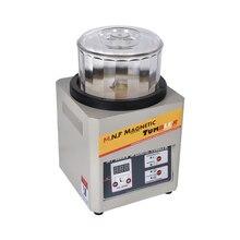 MT-180B 500g Magnetic Metal Polishing Machine 110V/220V Available Magnetic Tumbler Jewelry Polisher Super Finishing 180w