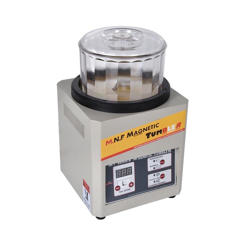 MT 180B 500g Magnetic Metal Polishing Machine 110V/220V Available Magnetic Tumbler Jewelry Polisher Super Finishing 180w