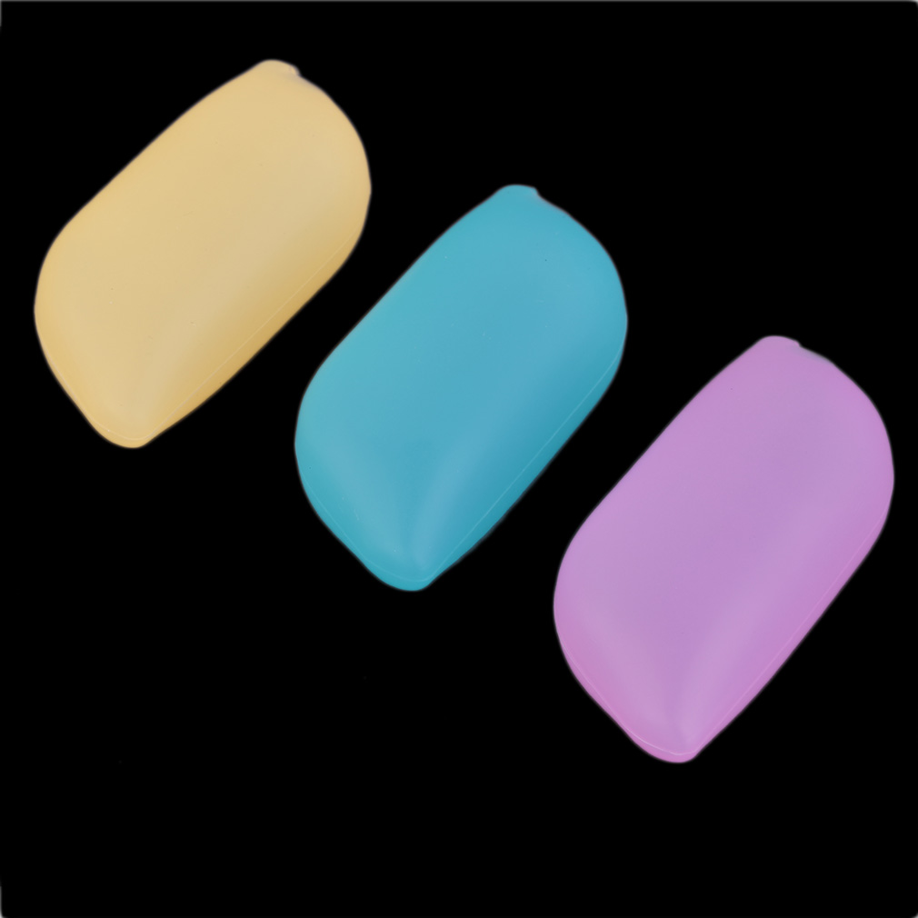 3 Pcs Silicone Soft Travel Camping Toothbrush Head Case Cover Protective Caps Hot Selling