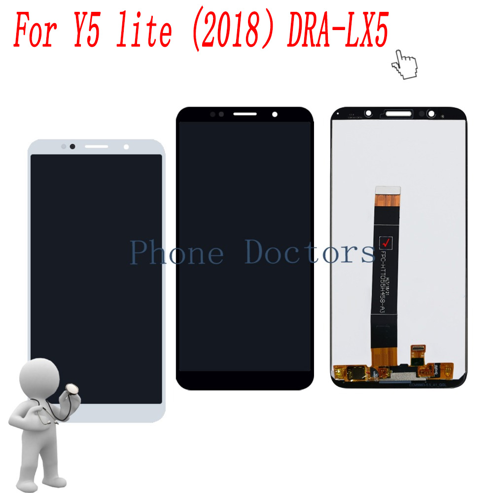5.45 inch For Y5 lite 2018 Full LCD DIsplay+Touch Screen Digitizer Assembly For Huawei Y5 lite ( 2018) DRA-LX5 100% Tested5.45 inch For Y5 lite 2018 Full LCD DIsplay+Touch Screen Digitizer Assembly For Huawei Y5 lite ( 2018) DRA-LX5 100% Tested