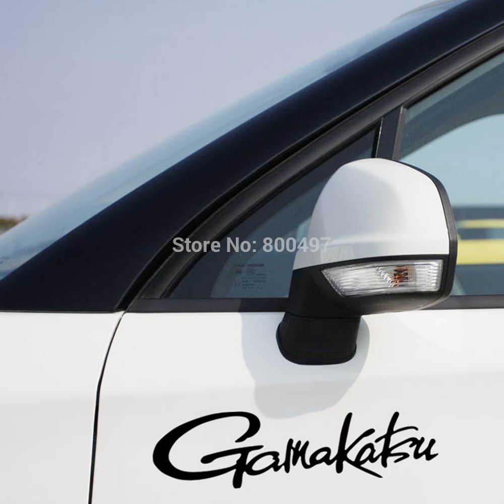 Gamakatsu Funny Car Sticker Auto Della Decalcomania del PVC Accessori Auto Sticker per Tesla Toyota Volkswagen Hyundai Kia Lada