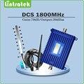 Полный комплект DCS 1800 мГц усилитель сигнала repetidor де sinal celular выходная мощность 20dBm усиления 70dB DCS повторитель сигнала усилителя