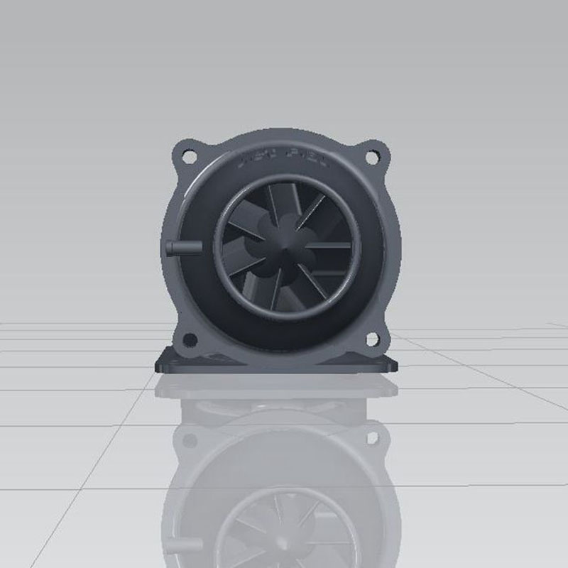 1PCS 100mm Water Jet Pump Spray Propeller 3D Printing Thruster 10mm CNC Shaft Propulsion Parts for Electric Surfboard