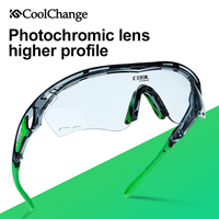 CoolChange Bicycle Glasses Photochromic Polarized Cycling Sunglasses Outdoor Sports MTB Bike Goggles Eyewear Myopia Frame