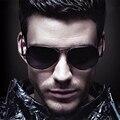 Clásico diseñador de la marca de los hombres gafas de Sol de Marco de aleación de Gafas De Sol Deportivas Lentes de Espejo UV Protection Sun Glasse 3027