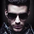 Clássico marca designer homens óculos de Sol da liga Quadro Oculos de sol Esportes Espelhado Lente Proteção UV Sol Glasse 3027