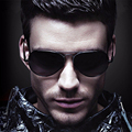 Classic brand designer men Sunglasses alloy Frame Oculos De Sol  Sports Mirrored Lens UV Protection Sun Glasse 3027