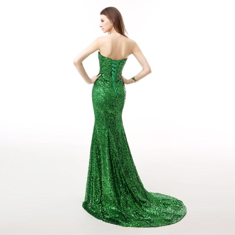 Forevergracedress Real Photos Grön Aftonklänning Ny Ankomst - Särskilda tillfällen klänningar - Foto 2