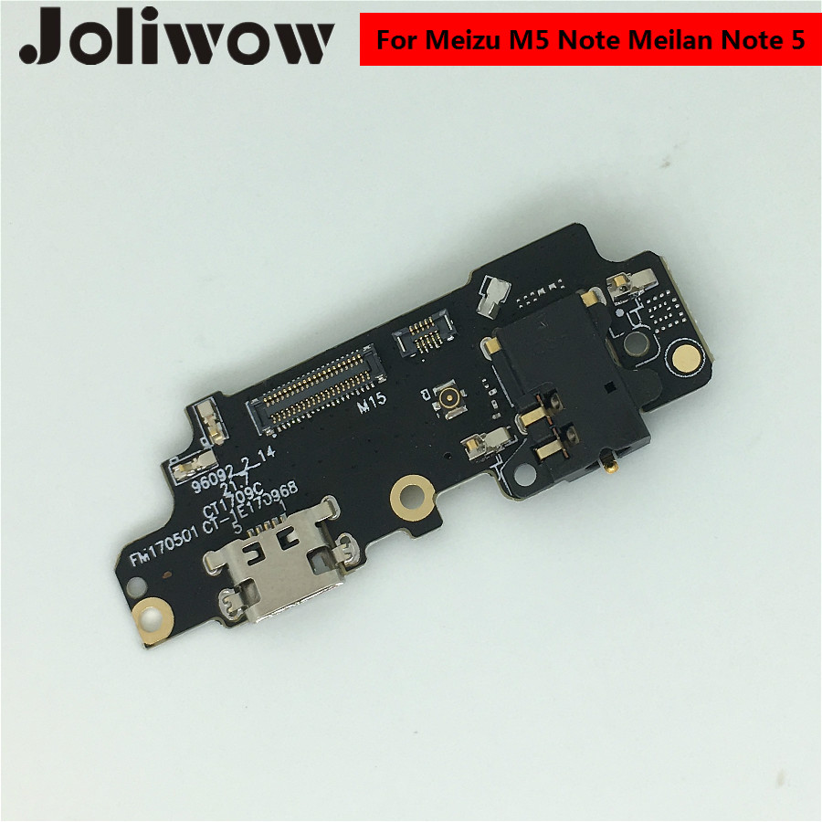 For Meizu M5 Note meilan Note 5 USB Plug Charging charger Port flex Cable with Mic headphone jack