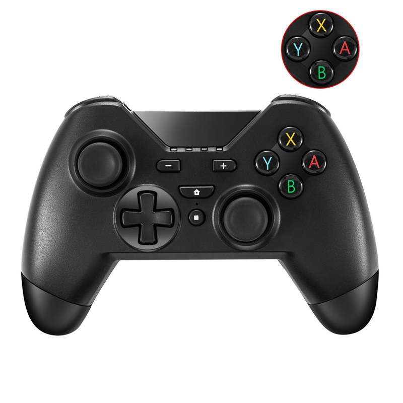 Applicable Ns Swit chpro Wireless Bluetooth Somatosensory Handle Screen Capture Shock in Gamepads from Consumer Electronics