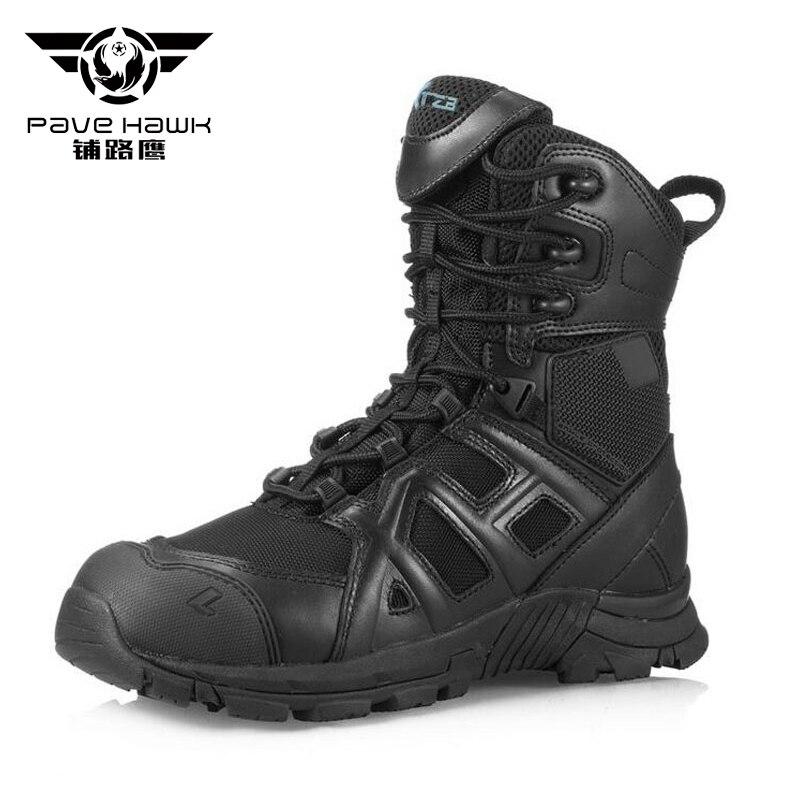66369f226991 Brand New Desert Tactical Military Boots Men Combat Boots Men s Shoes Work  Climbing Men Army Boots