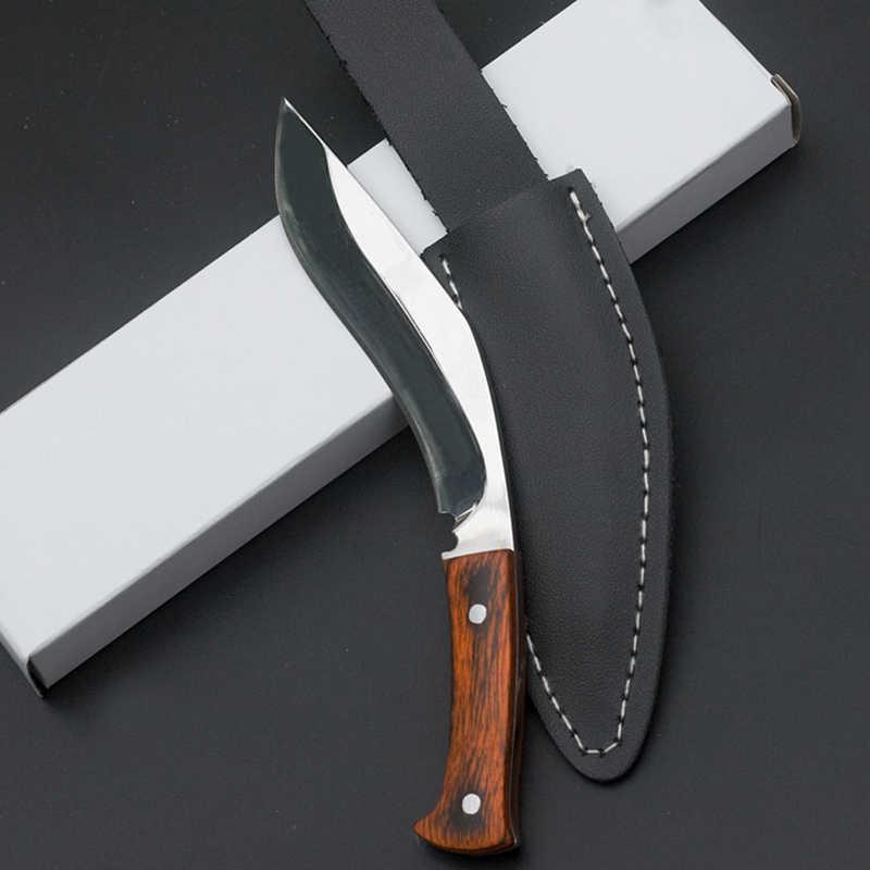 سكاكين صغيرة للجيب الباردة من CS سكاكين إنقاذ تكتيكية سكاكين صغيرة للاستخدام الخارجي EDC مزودة بحافظة
