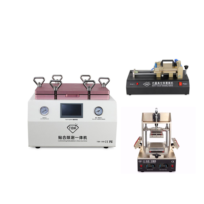 TBK 308 Full Kit OCA Vacuum Laminating machine Remover Machine Debubbler+OCA Film laminating machine+5 in 1OCA Frame machine 1pc universal auto oca film laminating machine polarizing film protective film laminater