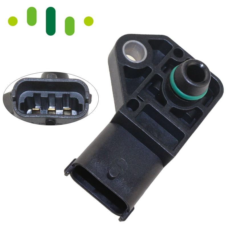 2.5BAR MAP Sensor Manifold Absolute Boost Pressure For Vauxhall Opel ASTRA G H Combo Corsa Meriva 1.7 CDTI 0281002487 97287862.5BAR MAP Sensor Manifold Absolute Boost Pressure For Vauxhall Opel ASTRA G H Combo Corsa Meriva 1.7 CDTI 0281002487 9728786