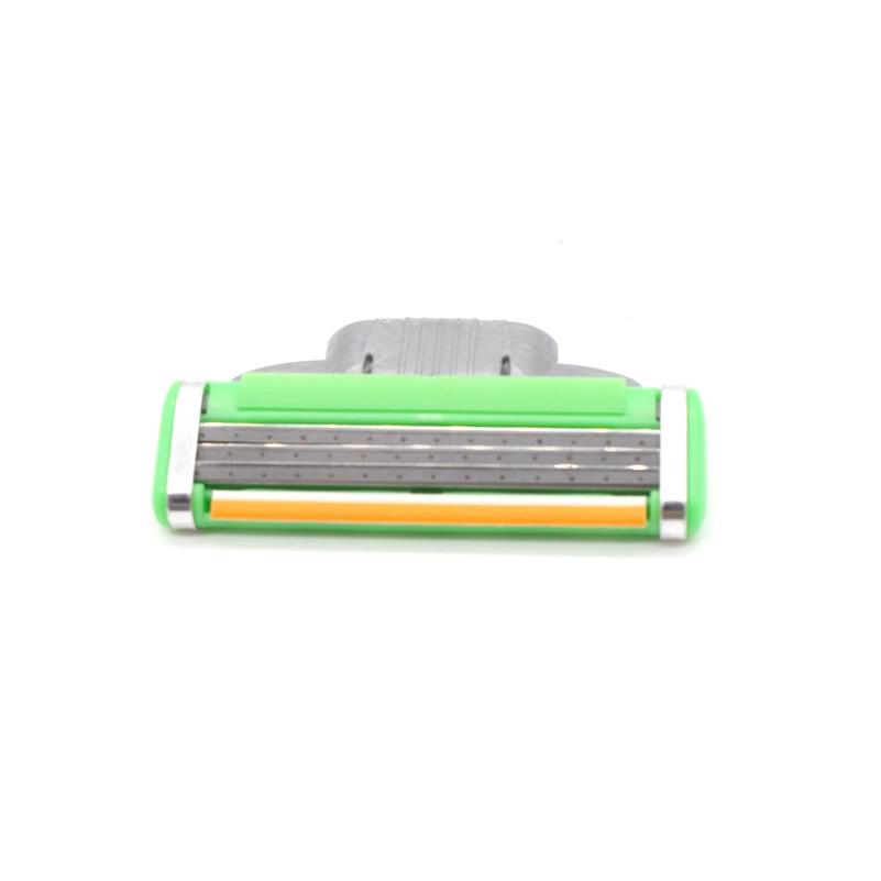 8pcs / set 3 ülgüc bıçaqları Standard RU Trimmer Təraş Ülgüc - Təraş və saç aradan qaldırılması - Fotoqrafiya 5