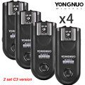 Yongnuo rf-603 ii c3 disparador de flash inalámbrico para canon 5d mark ii 1d mark ii 5d mark iii, 6d, 7D