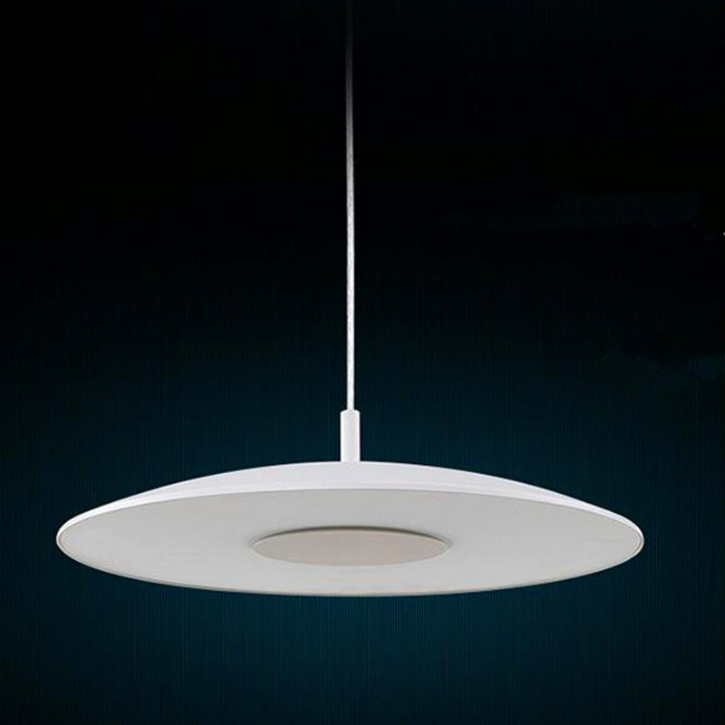 LED Simple Chandelier Round Modern White Chandelier Creative Cafe Light CD-010 cd the corrs white light