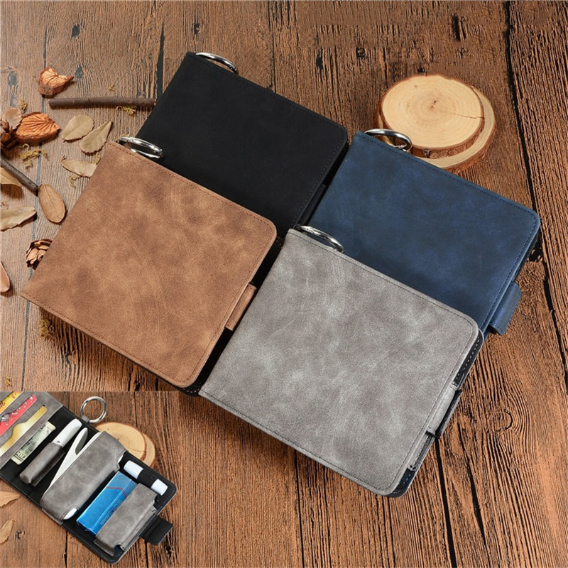 Pouch Bag Pu Leather Carrying Cover For  IQOS 3.0 Multi Electronic Cigarette Case Vape Accessaries