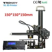 Tronxy X1 3D Printer DIY Kit Upgraded Quality High Precision Print 150 150 150mm Acrylic LCD