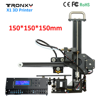 Tronxy X1 3D Printer DIY Kit Upgraded Quality High Precision Print 150 150 150mm Acrylic LCD