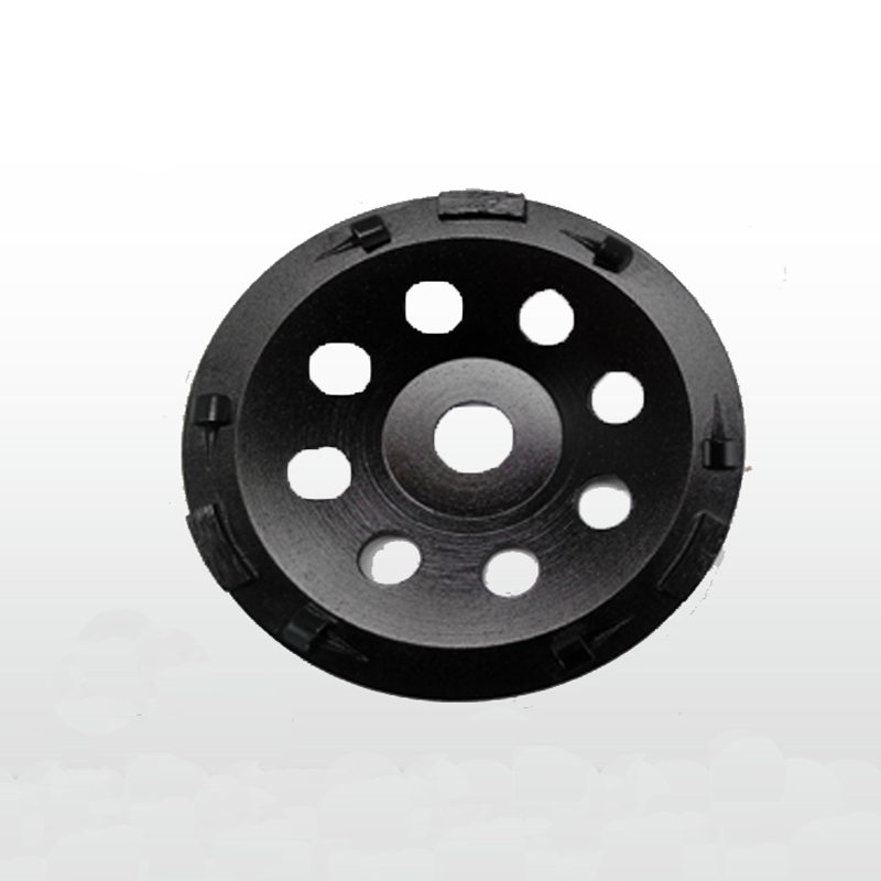 7 inch 180mm PCD Grinding Cup Wheel Epoxy Paint Glue Mastic Abrasive Residue Removal 6*1/4 PCD+3 segments for stone concrete батарея powercom bat vgd rm 48v black for vrt 1500xl srt 2000a srt 3000a vgd 2000 rm short 48v 14 4ah