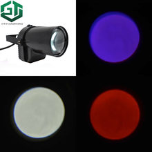 Factory sell bright red green blue white yellow pink color for choice led beam pinspot stage Mirror Balls Bar pin spot lights(China)