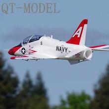Электрический радиоуправляемый самолет QTmodel T45 T-45 70 мм партнер завод с FMS модель