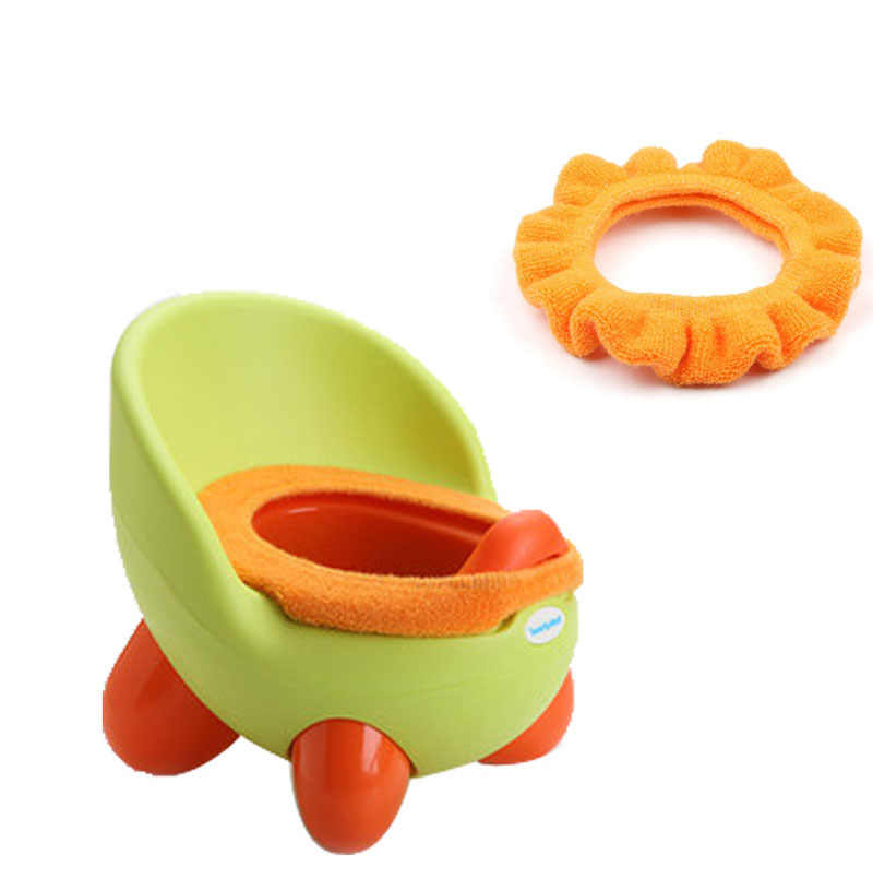 Детское сиденье для унитаза теплые подушки младенческой Детские Плюшевые горшок сиденье для обувь девочек мальчик кроссовки горшок портативный пи