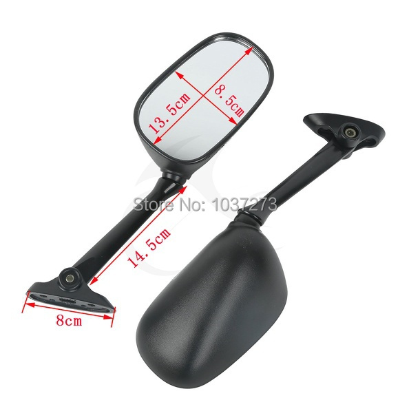 Left Right Rear View Mirrors For Suzuki GSF1250S 1250SA Bandit 2007 2008Left Right Rear View Mirrors For Suzuki GSF1250S 1250SA Bandit 2007 2008