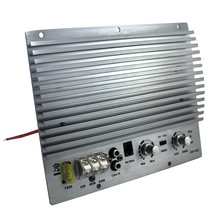 Мощный сабвуфер 1000 Вт 12 В 1 канальный усилитель плата активные