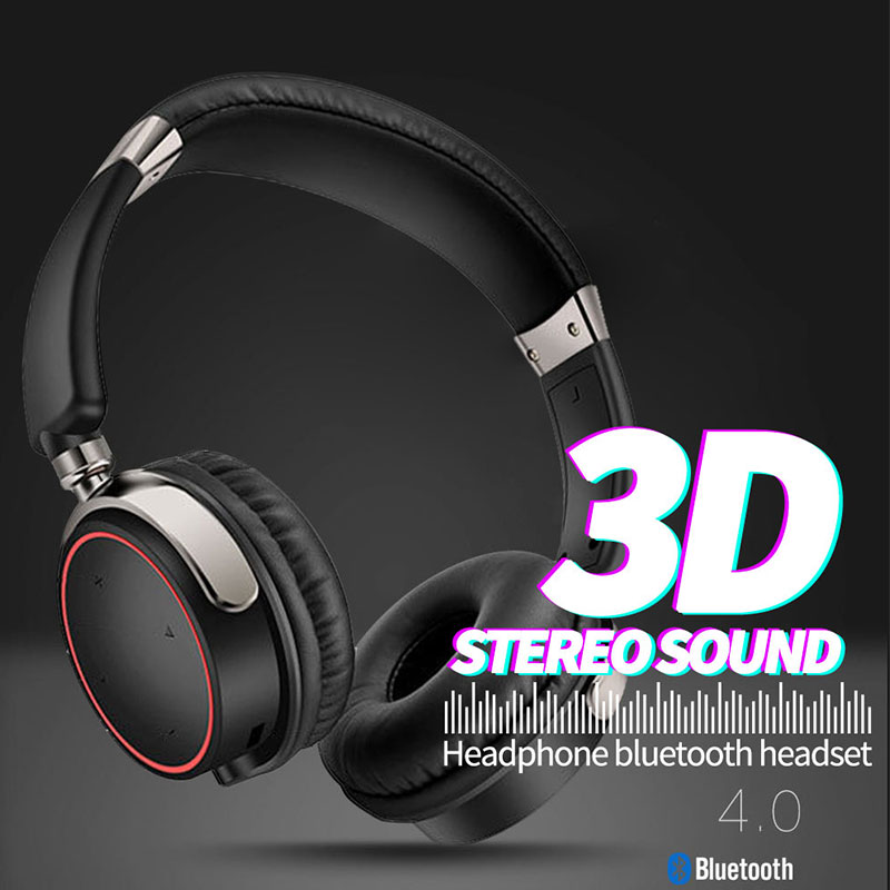 Bluetooth Headphone Wireless Earphone 3D Stereo Music Headset CRS Gaming Headphones For iPhone 7 8 Xiaomi iPad PC Competer MP3