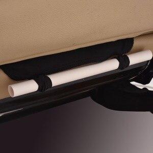 Image 4 - Чехлы на передние Автомобильные сиденья, модный стиль, универсальные автомобильные аксессуары, автомобильный стиль