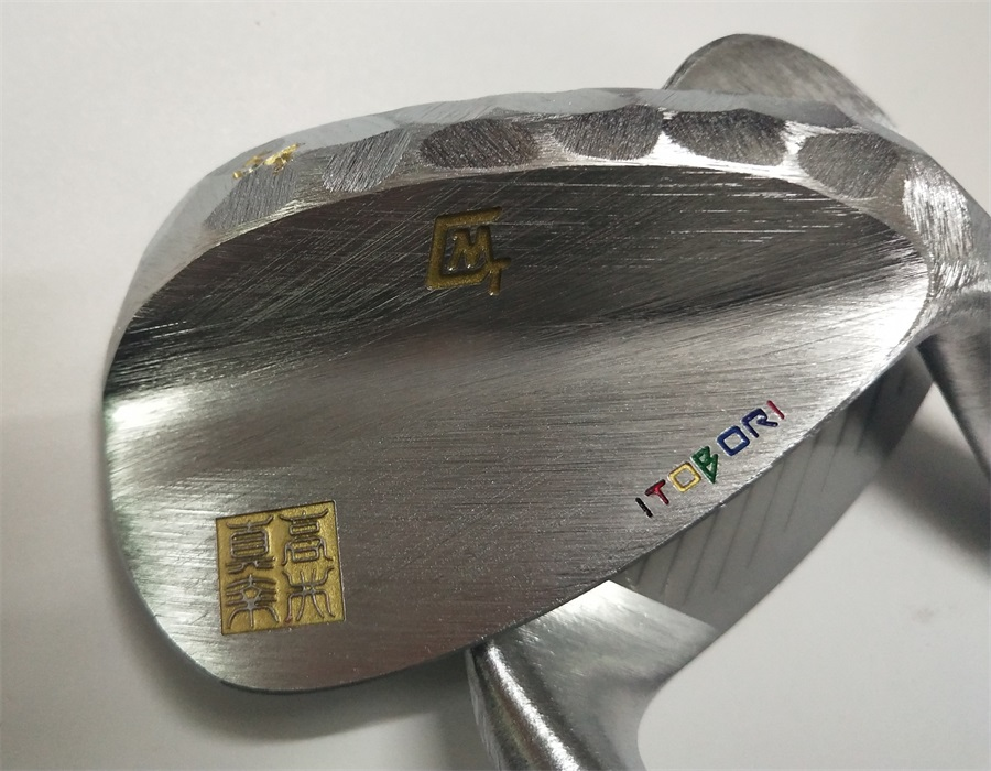 2019 ITOBORI   Silver Color   Wedge  Head   Forged  Carbon Steel  Golf   Wedge Head   Wood  Iron  Putter  Head