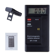 Electronic Electromagnetic Radiation Detector Digital EMF Meter Frequency Tester For Home Office Computer Monitors 50MHz-2000MHz