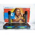 Professional EW545G2/EW500G2 UHF Dual Channel Wireless Microphone System with Two Clear Sound Handheld Mic/Free Shipping