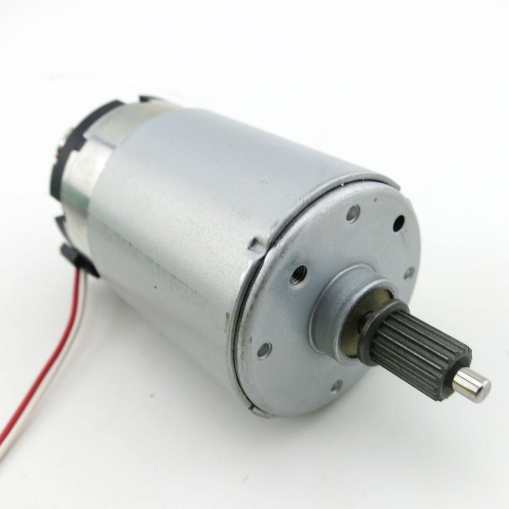 цена на 555 motor micro dc 3V to 24V 4000rpm motor generator diy model permanent magnet mute motor long axis high torque